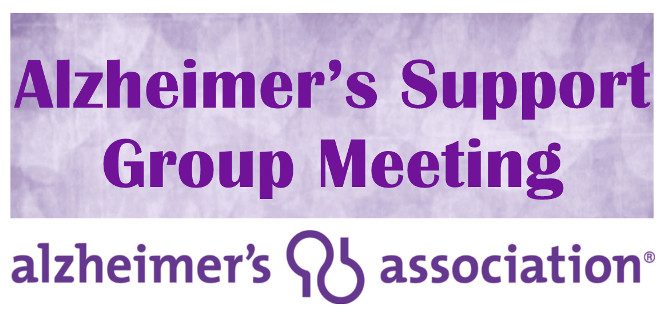June Alzheimers Support Group