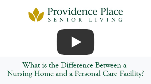 What is the Difference Between a Nursing Home and a Personal Care Facility?