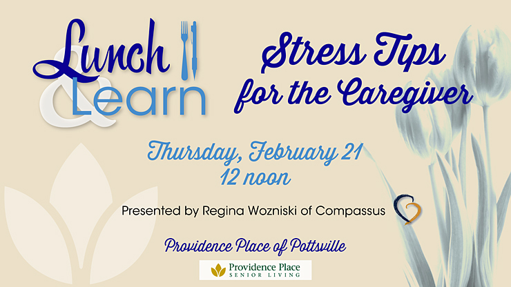 Lunch & Learn Stress Tips