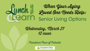 Lunch & Learn — Senior Living Options