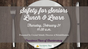 Lunch & Learn: Safety for Seniors