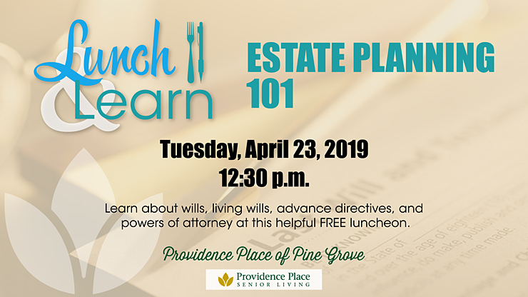 Lunch & Learn — Estate Planning 101